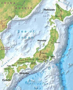 Medieval Japan Geography Maps The Middle Ages Learning Module